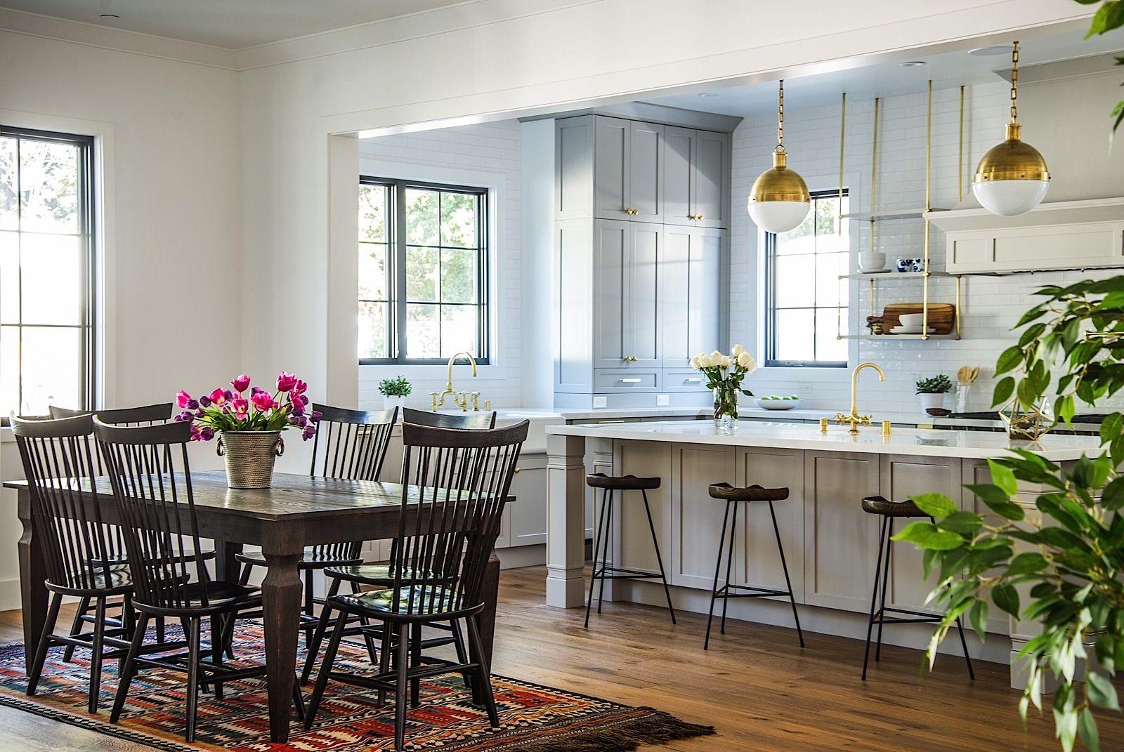 Best White Oak Floors Brass Modern Cape Cod Kitchen 400 x 300