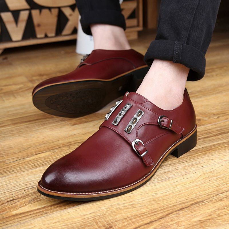 160e2d6d39 new fashion men business office home dress genuine leather shoes pointed  toe ankle boots spring autumn mens footwear
