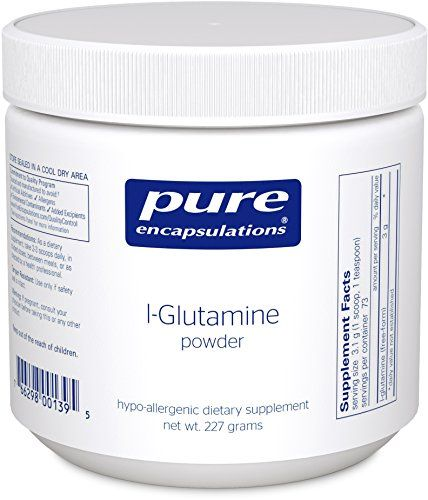Pure Encapsulations - l-Glutamine Powder - Hypoallergenic...
