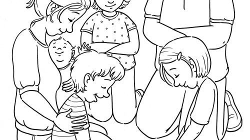 Prayer Coloring Pages New Lds Prayer Coloring Page