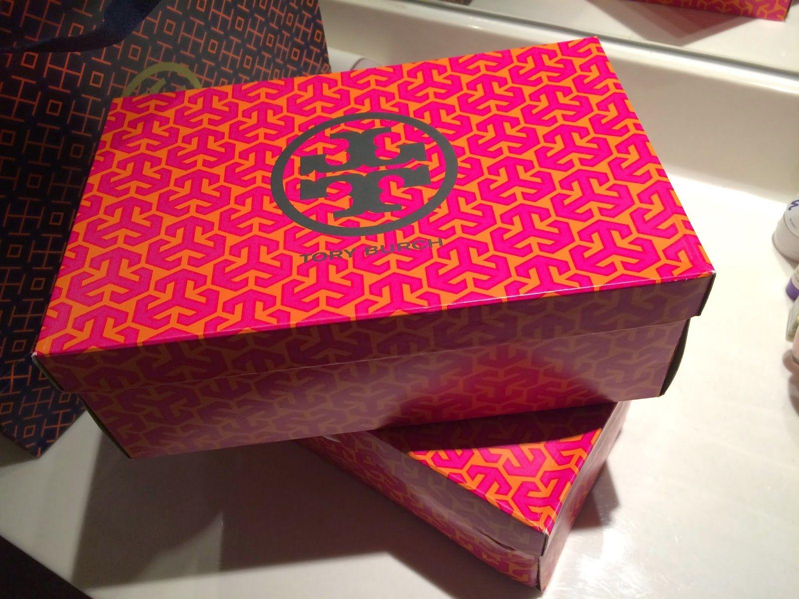 Tory Burch Shoe Box
