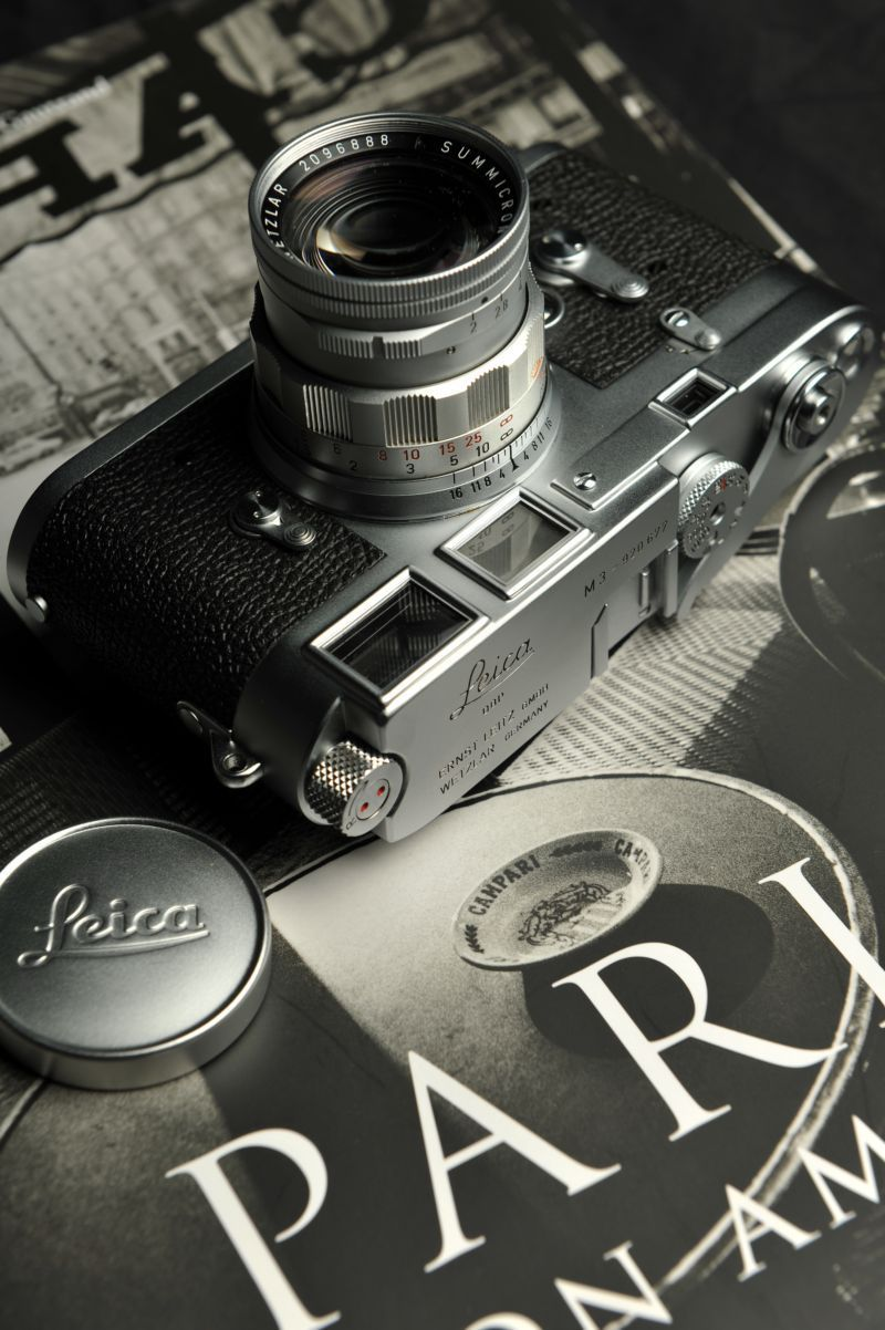 Leica M3  Dream Photography tool. Soon... Black & White films in the real world