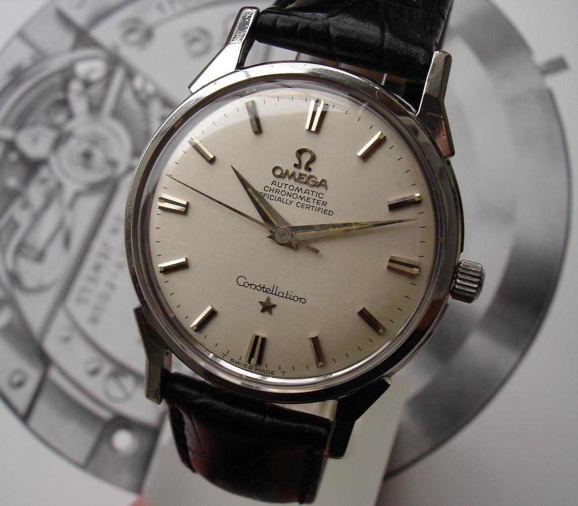 Omega constellation vintage watches pinterest omega constellation and vintage omega for Omega watch constellation