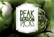 Create art-worthy meals with this Peak Season Pick!