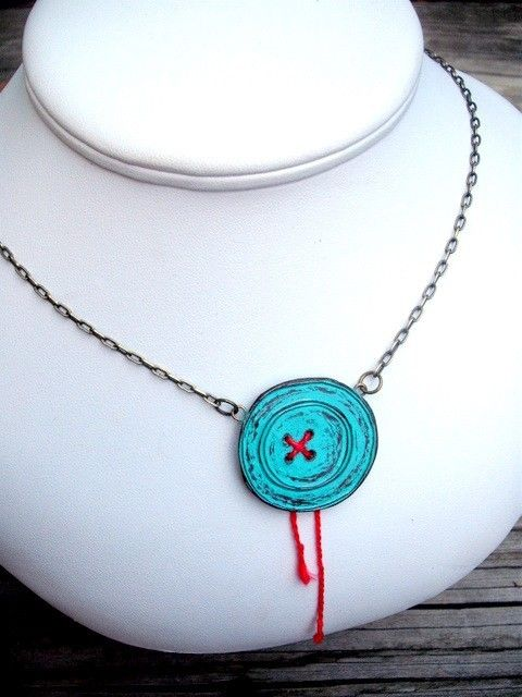 So cute! This person's etsy shop reminds me a lot of Dr. Seuss stuff.  Stealing this idea with a regular button x]