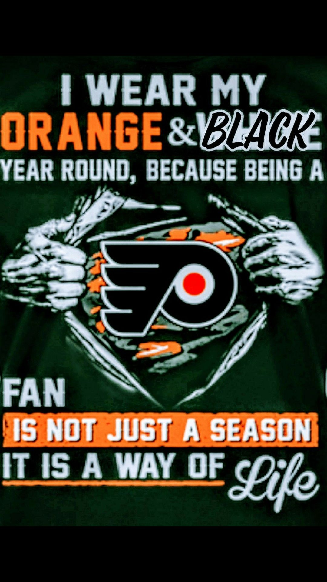 More or less Philadelphia flyers hockey, Flyers hockey