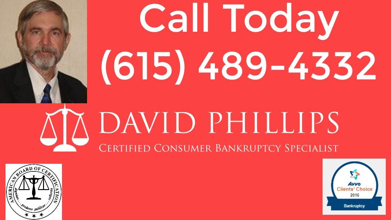 Bankruptcy lawyer in nashville615 4894332attorney