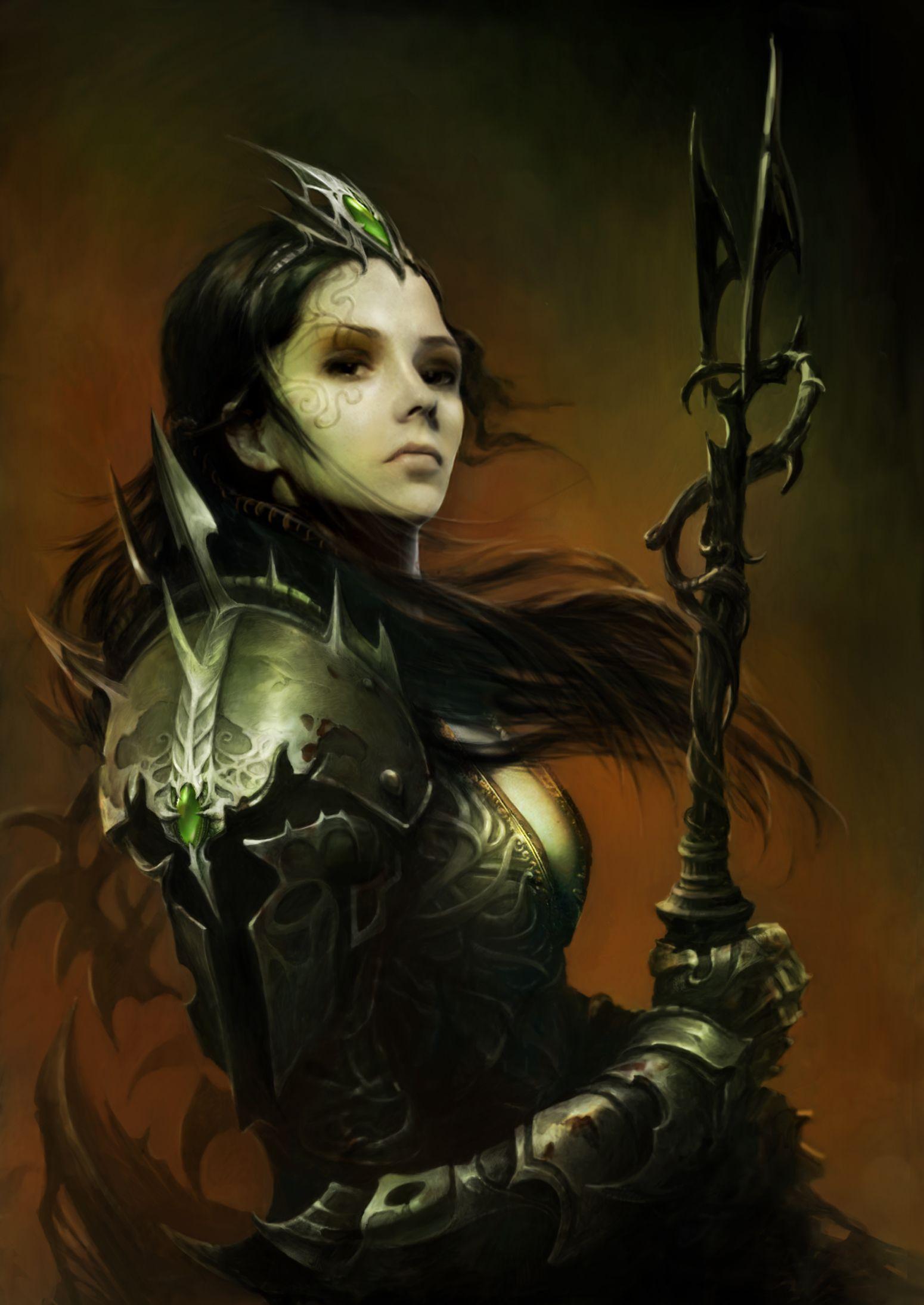 King Arthur Game Art  Fantasy Art The Women Iii -5368
