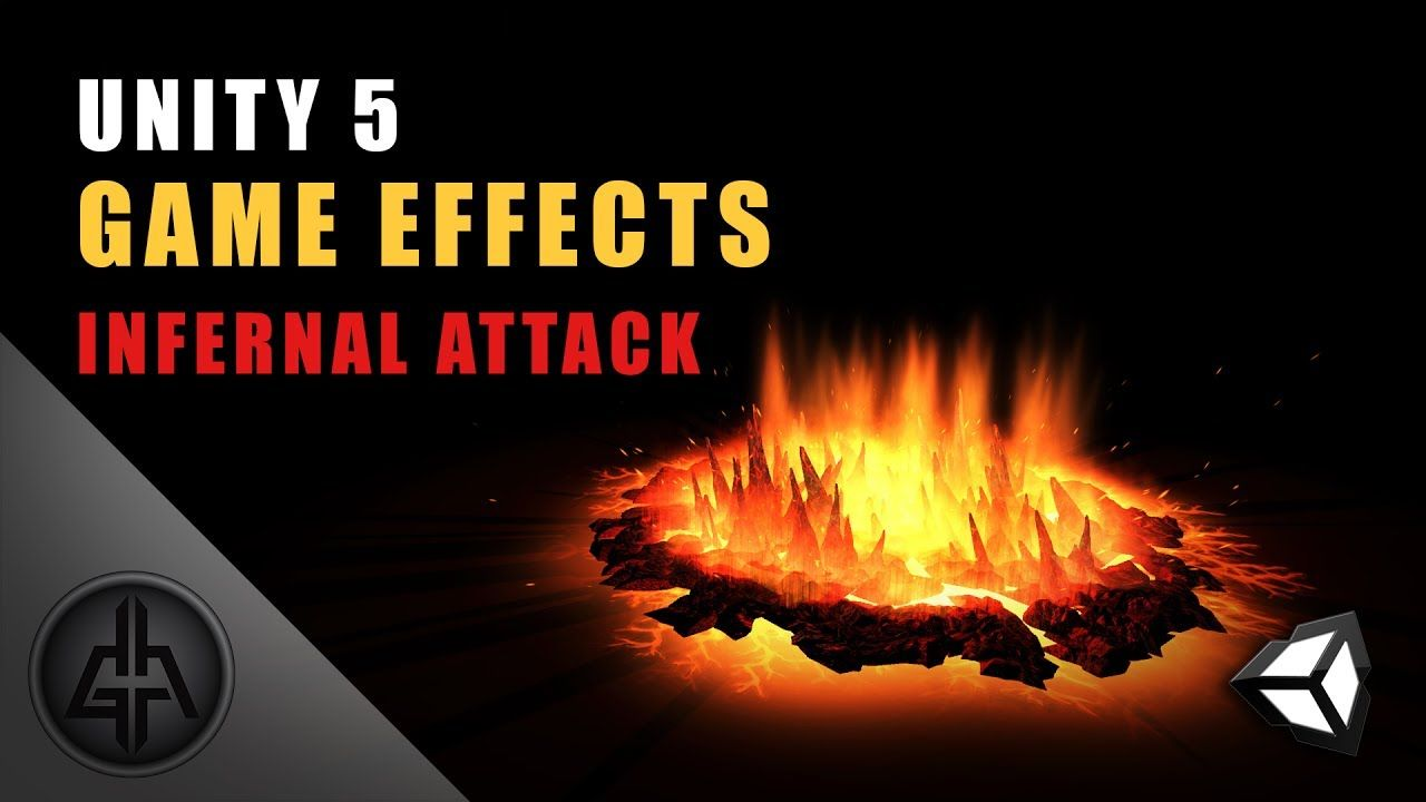Unity 5 - Game Effects VFX - Infernal Attack | unity tricks