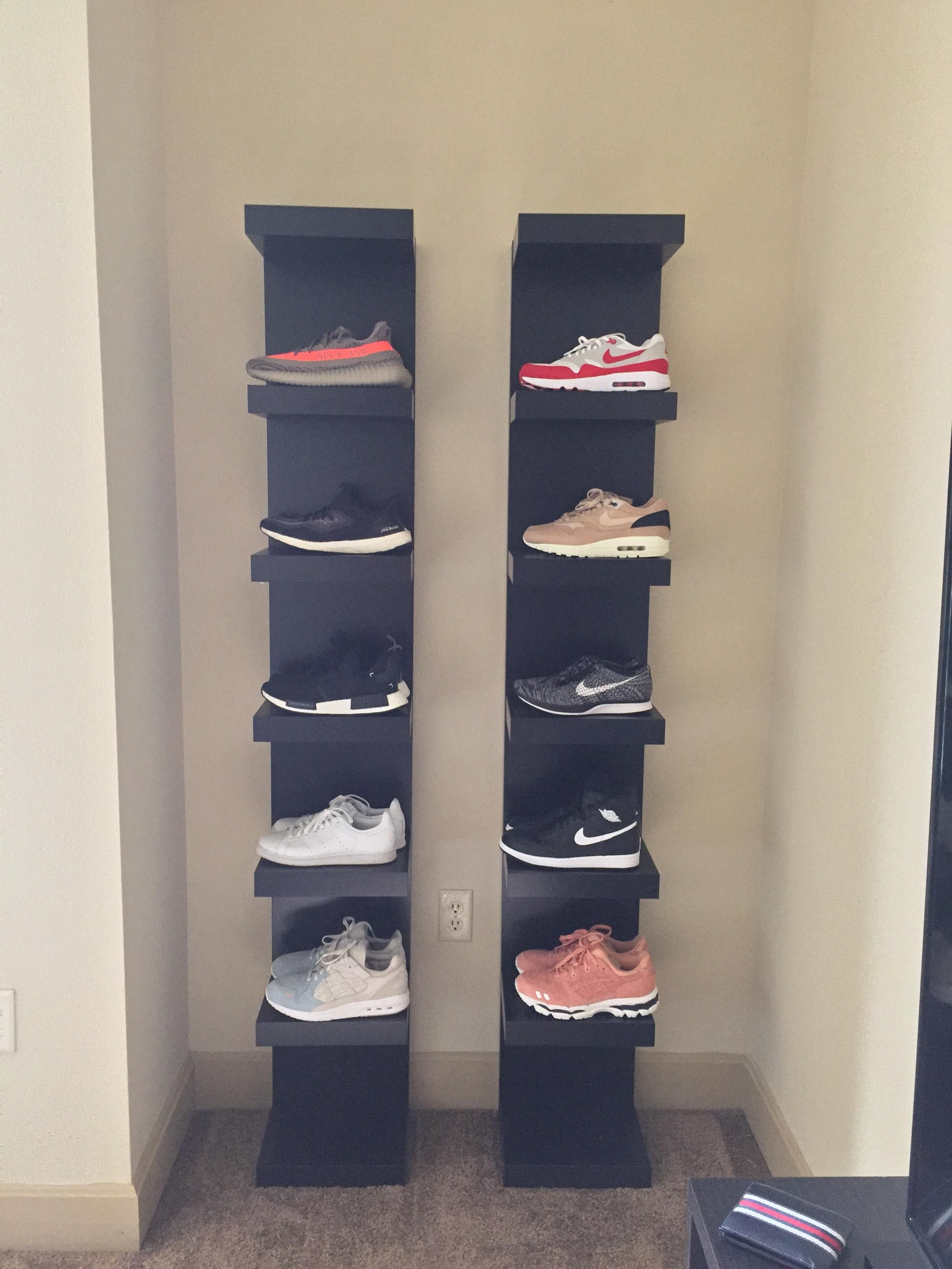 New to collecting shoes; Sorry about the overused lack shelves just moved  close to an ikea so I had to lol