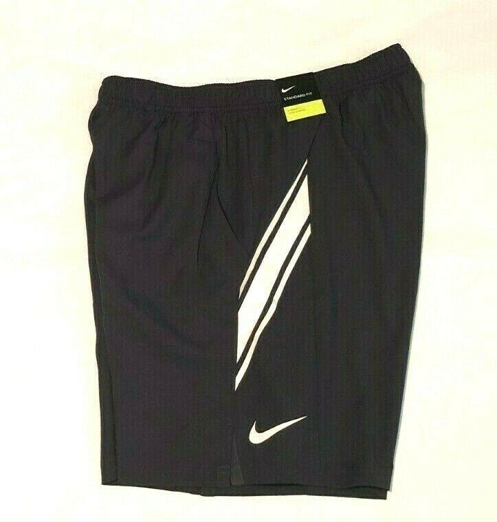 Nike court drifit 9 mens tennis shorts gridiron white