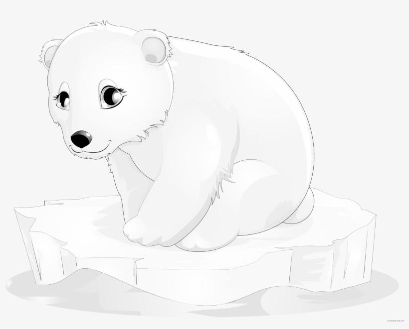Polar Bear Clipart Polar Bear Baby Clipart Transparent Png Polar Bear Drawing Polar Bear Cartoon Bear Clipart