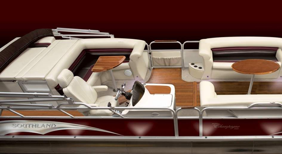 Luxury pontoon boat | My Future Boat | Pinterest | Luxury pontoon ...