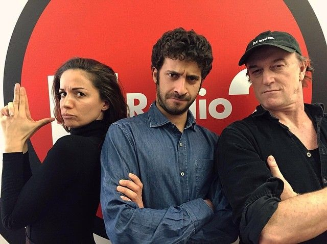 #AndreaDelogu Andrea Delogu: I Sociopatici di @rairadio2 , persone tranquille... Sociopatici.rai.it @disbanded #edoardoferrario