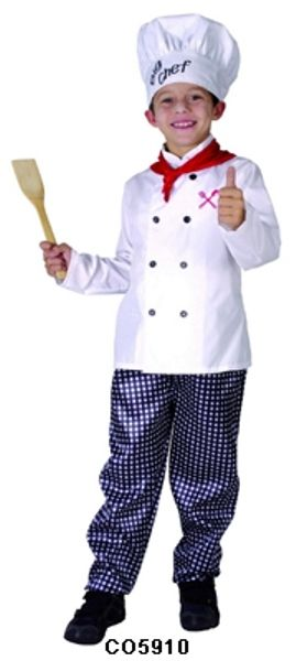 63ea1eead5a07 Kids The Chef Restaurant Cook Costume Fancy Dress Up Party ...