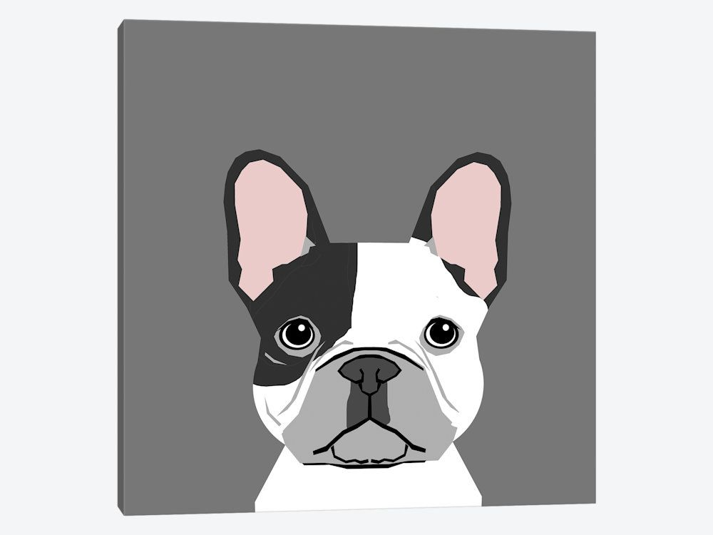 French Bulldog Ii Art Print By Pet Friendly Icanvas In 2021 French Bulldog Art French Bulldog Painting French Bulldog Drawing