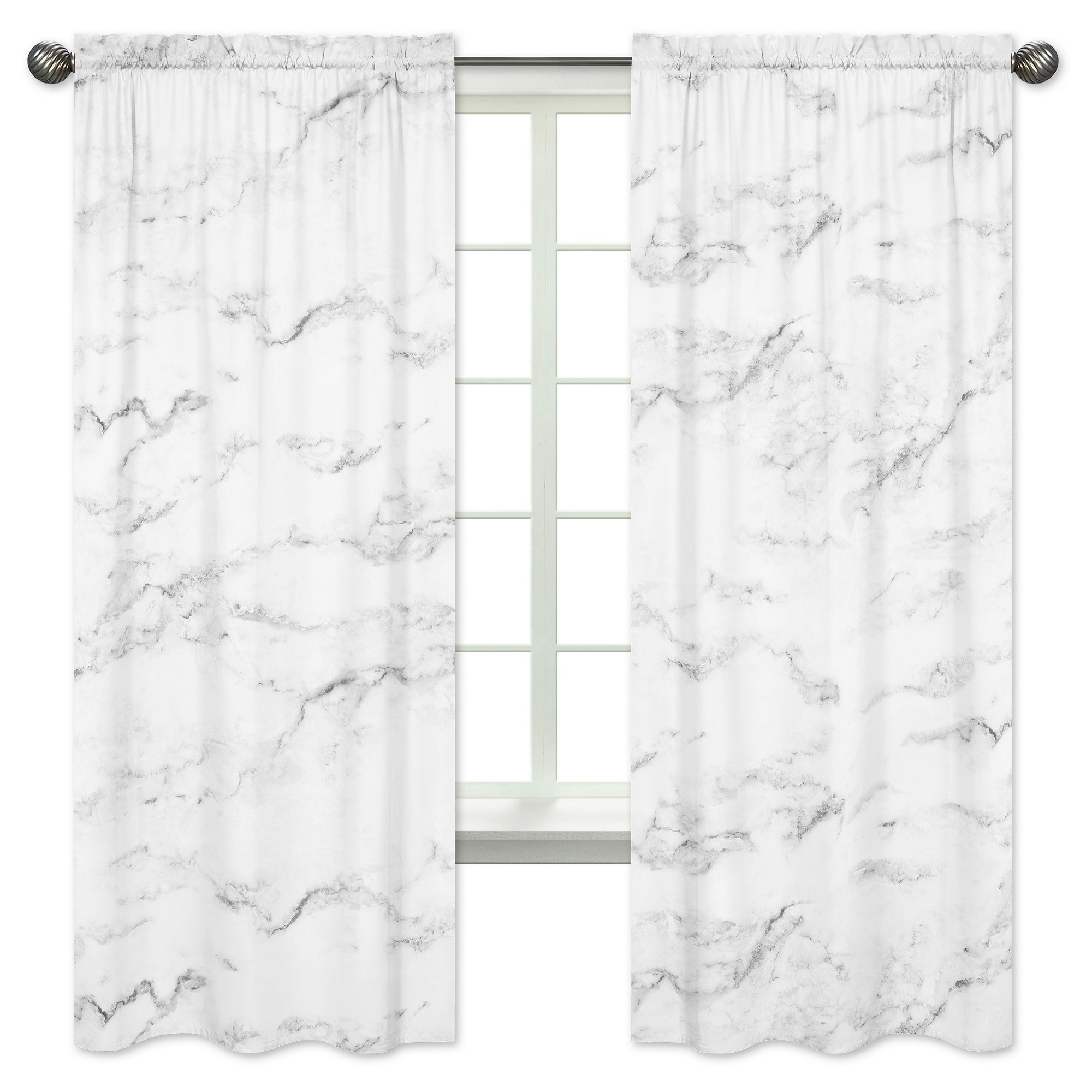 Marble Bedroom Curtains