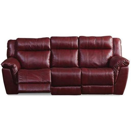 Reclining Sofa  K Motion Red Leather Match Reclining Sofa u Loveseat