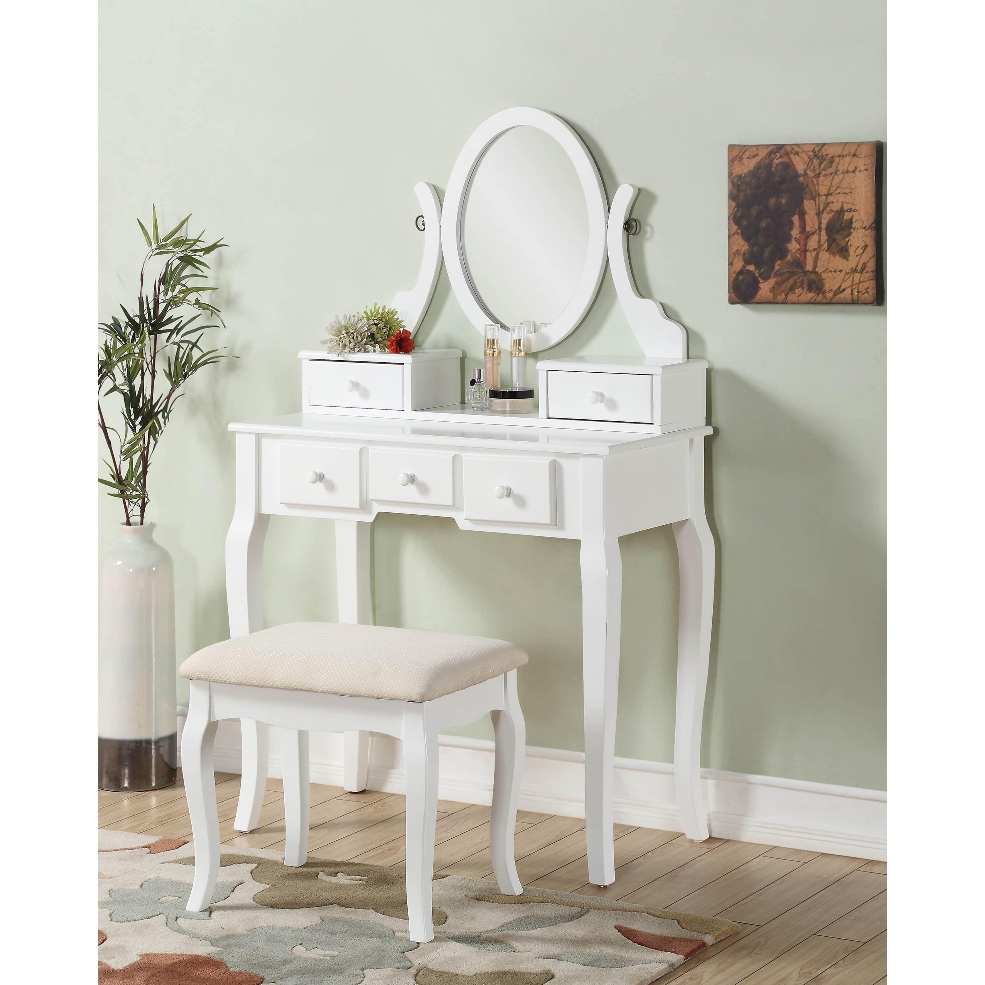 black bench mirror makeup kids full of w chair studded stool table vanity size white with without leather back tall set modern