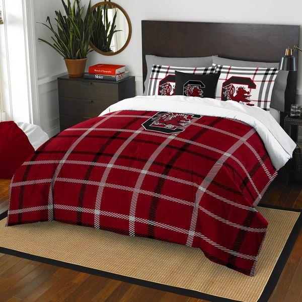 The Northwest Company South Carolina Gamecocks Soft & Cozy 3-Piece Full Bed Set