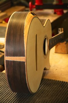 Build Thread: Brazil Build Thread: Brazilian Rosewood/Swiss Alpine Spruce Custom Design Crossover Acoustic - Page 7 - The Acoustic Guitar Forum / jahsaude