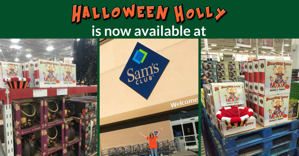 halloween holly book and bowl set is now available at select sams club locations in pa