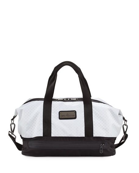 ADIDAS BY STELLA MCCARTNEY Laser-Cut Mesh Modern Gym Bag, Deepest  Ink White Gunmetal, Navy.  adidasbystellamccartney  bags  shoulder bags   hand bags  lining ... d49ee34980