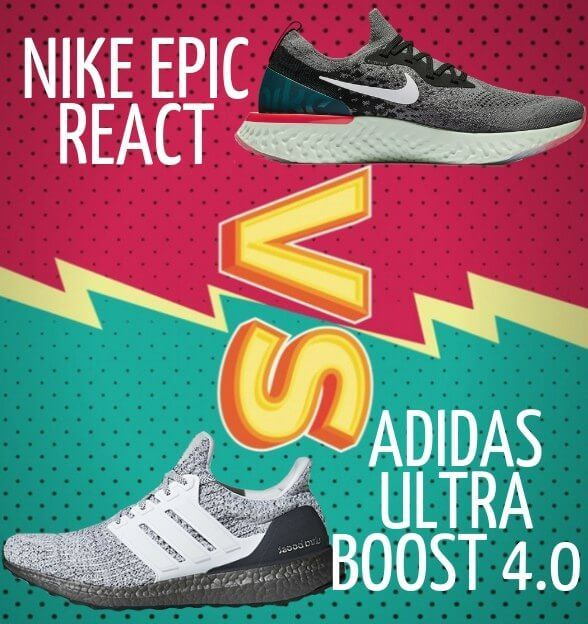 Is React on the Nike Epic React better than Boost on the