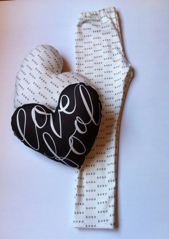 Love Fool Organic Cotton Mini Pillow by LittleBowAndArrow on Etsy