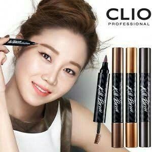 CLIO TINTED TATTOO Kill Brow Eyebrow Pen and Mascara Makeup …
