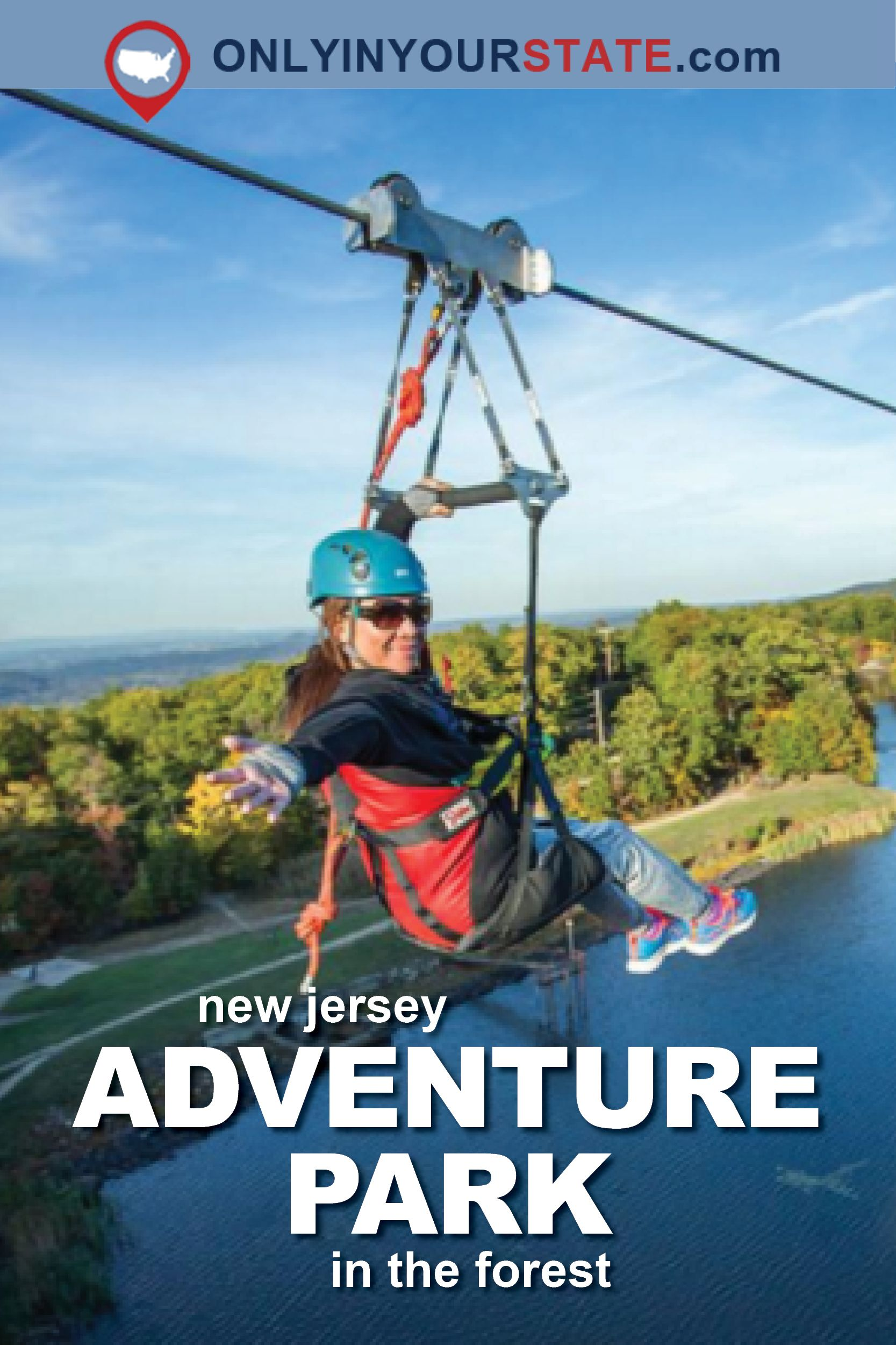 There S An Adventure Park Hiding In The Middle Of A New Jersey Forest And You Need To Visit Adventure Park New Jersey Kyoto Travel
