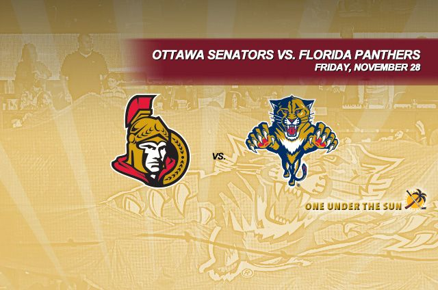 Ottawa Senators vs. Florida Panthers