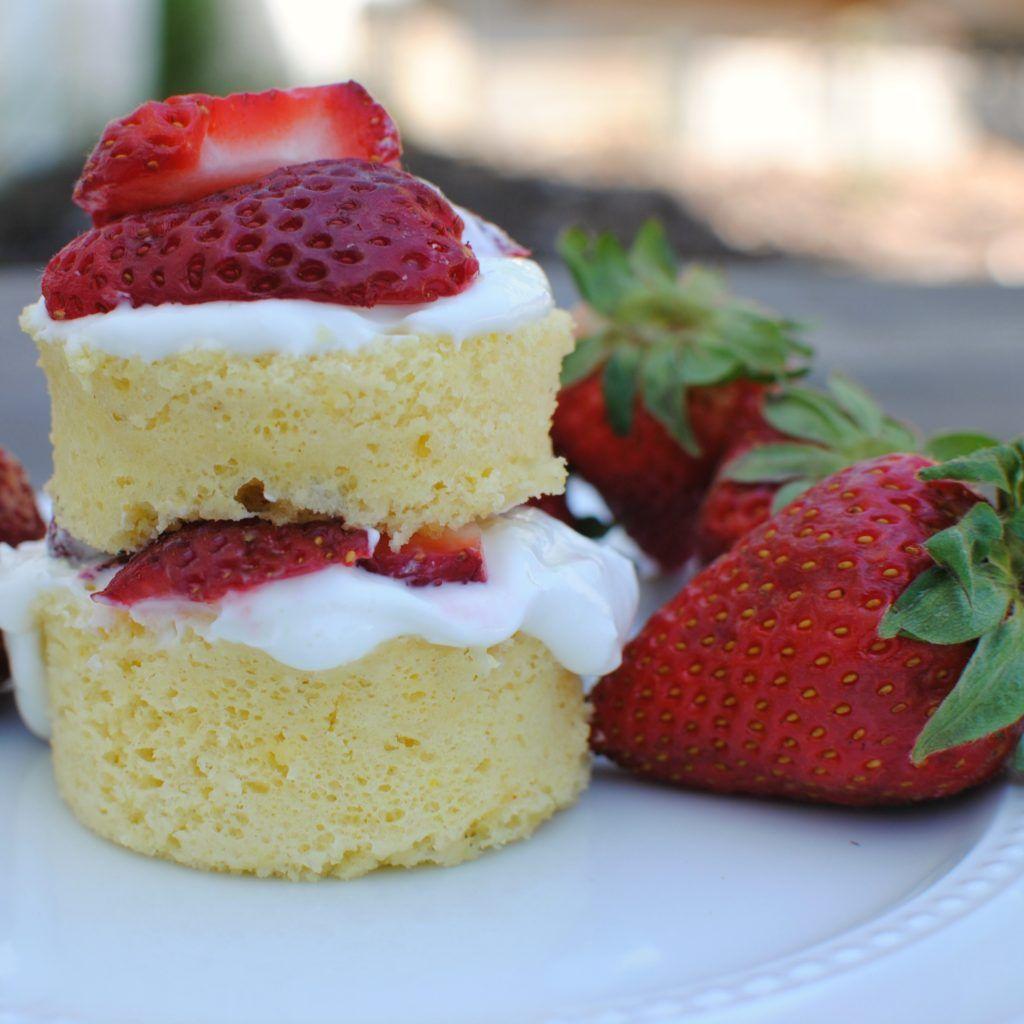 100 calorie mug cake recipe! in 2020 | Low calorie mug ...