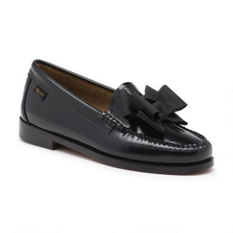 Black Lilian Bow Weejuns | Women shoes