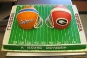 house divided themed cakes - Google Search