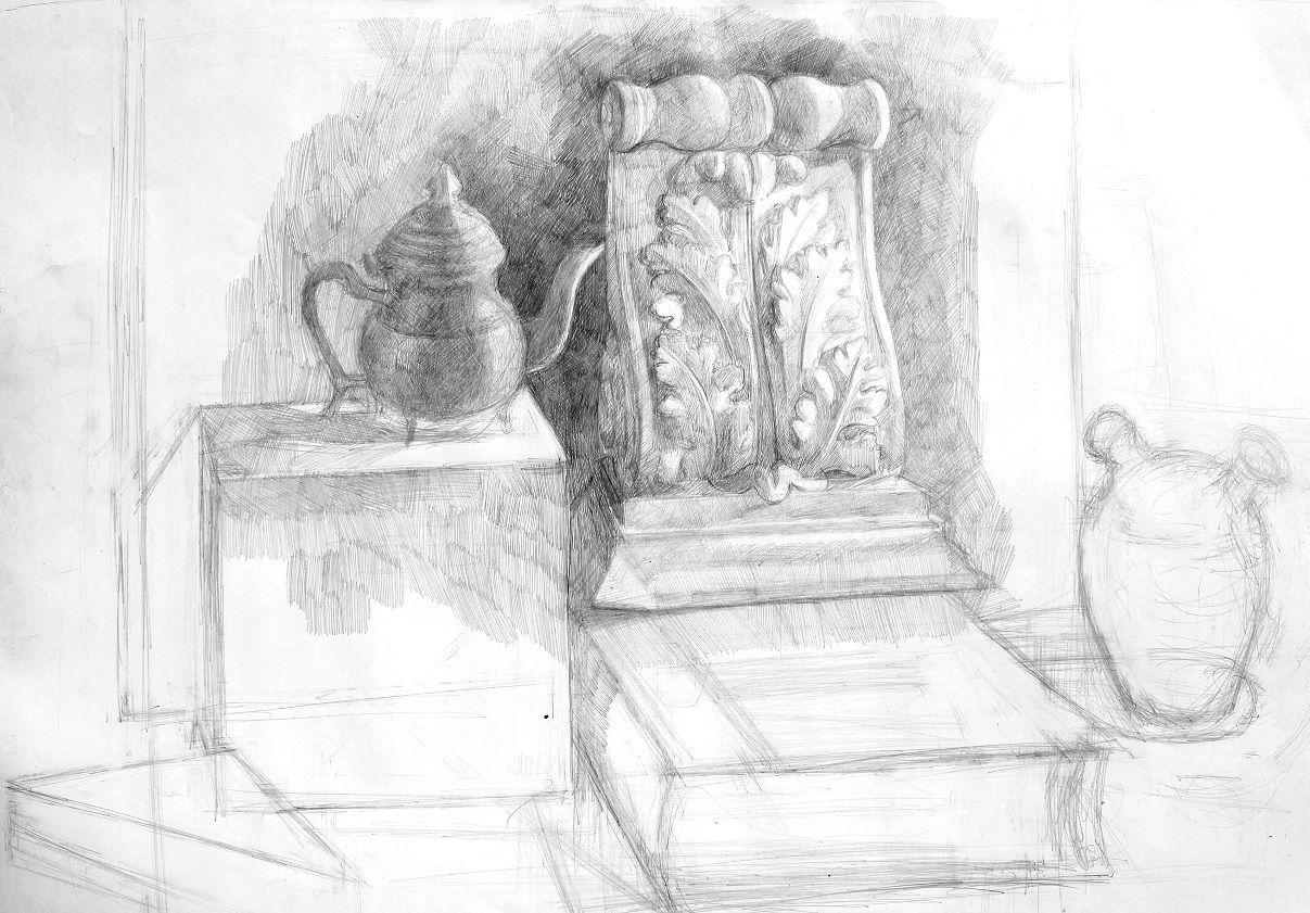 Bartulos, Làpiz sobre hoja, 0,50 x 0,70, 2011