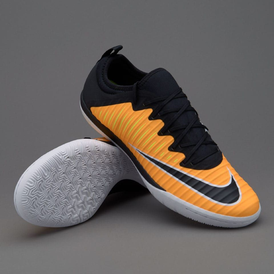 buy popular 39319 9db6c Nike MercurialX Finale II IC - Laser Orange Black White Volt White