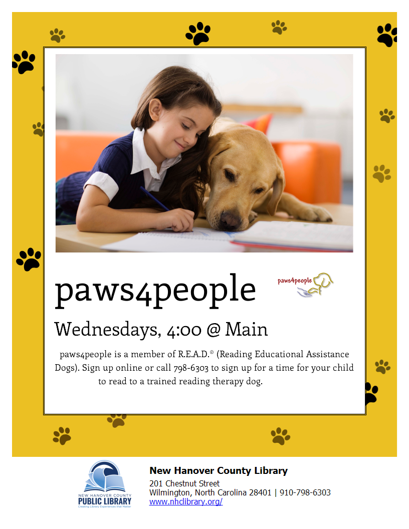 children build confidence reading to dogs you can build are you looking to make a flyer to promote your to me program we ve got you covered change the color and or image to create as many looks as you