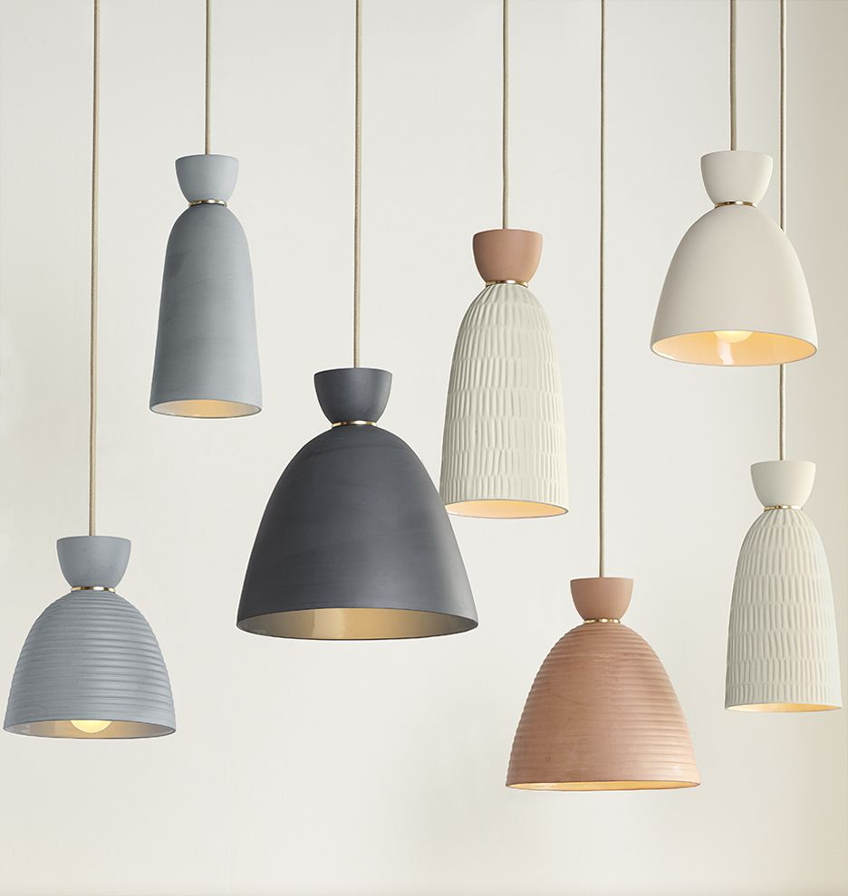 Hazel large smooth bell pendant available in 4 mix and match colors a5059