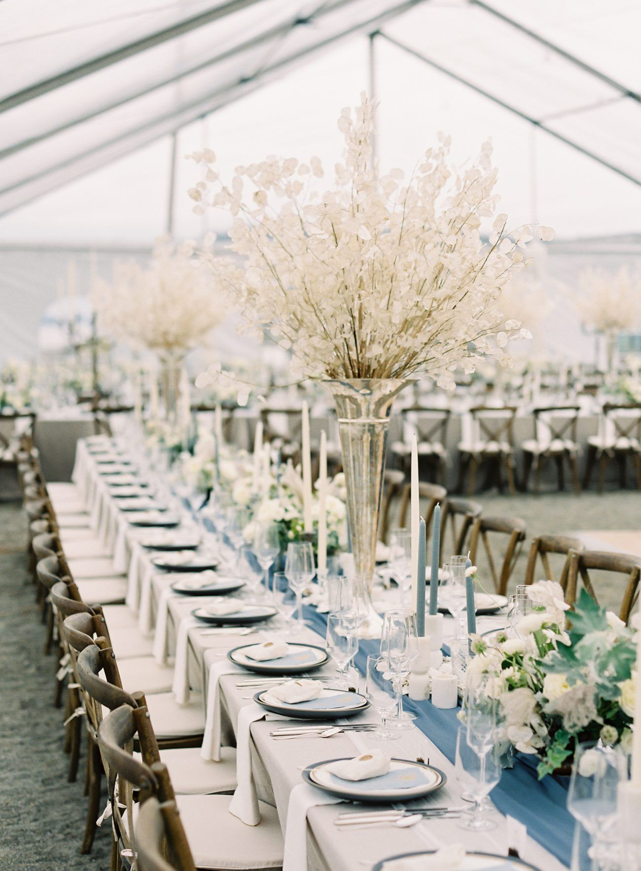 Dan and Kaitlin Say I Do in a Sand and Sea Inspired Coastal Wedding Styled With Shades of Blue and Fresh Neutrals