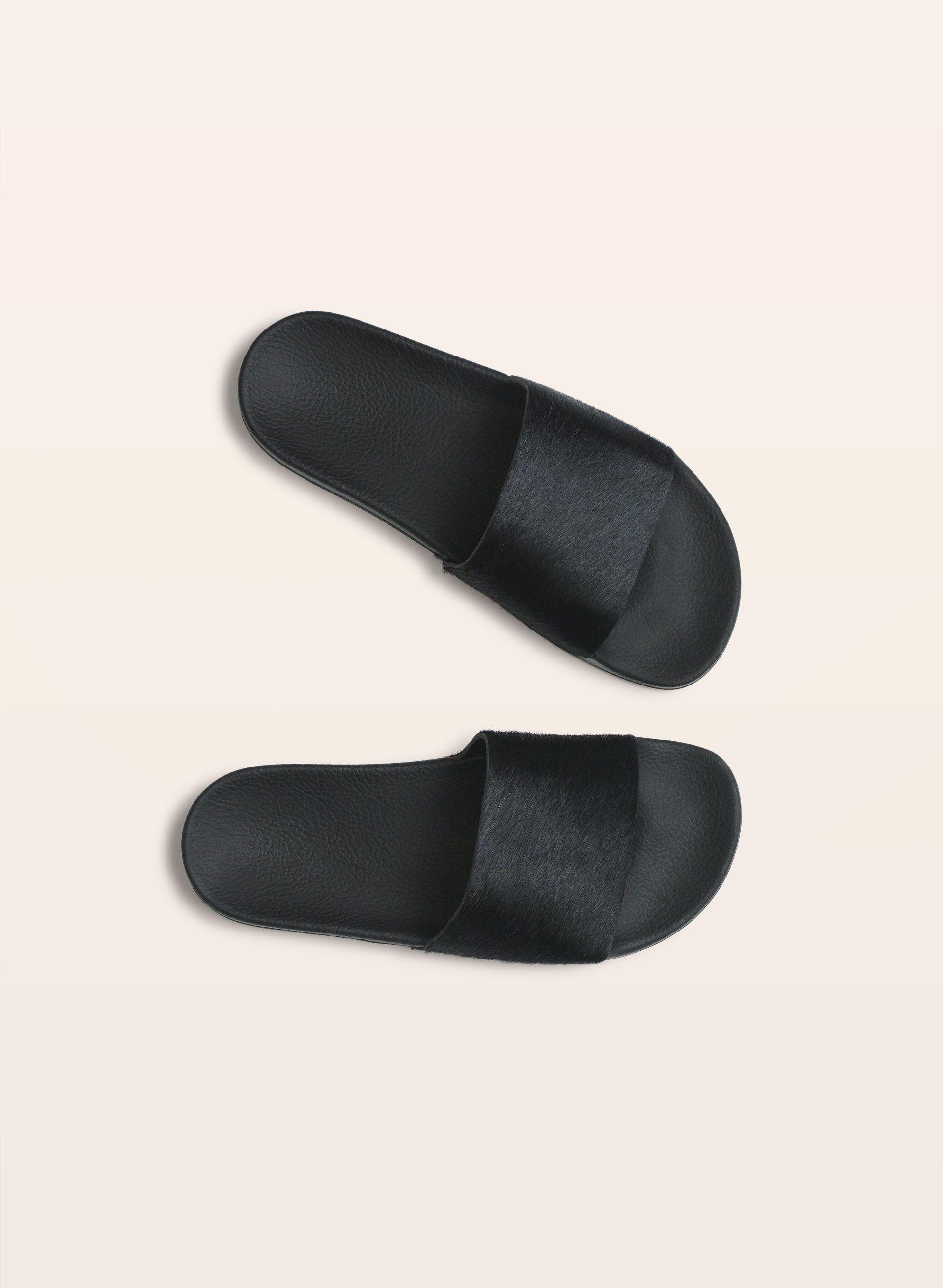 Adidas PONY HAIR ADILETTE | Aritzia | Fashion Sense | Pinterest