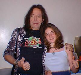 Ace Frehley Daughter Ace Frehley With My Daughter Lindsey Star