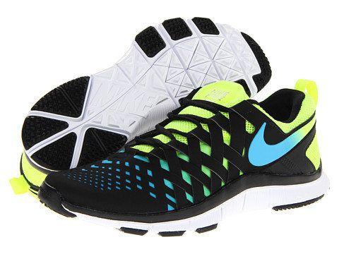 Nike Free Trainer 5.0 NRG Volt/Black/Current Blue - Zappos.com Free Shipping BOTH Ways