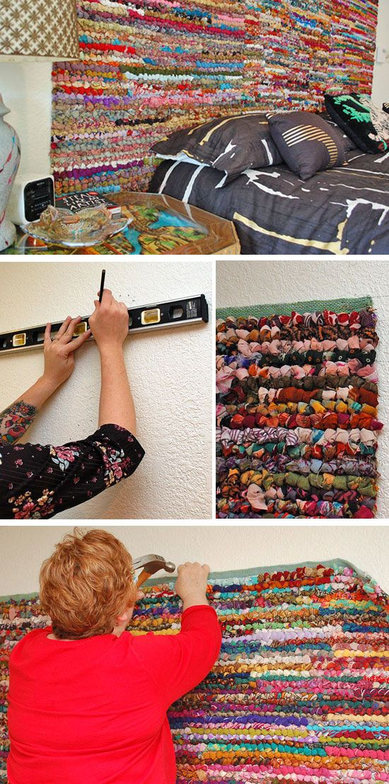 Colorful Rug Headboard | Click Pic For 21 DIY Bohemian Bedroom Decor Ideas  For Teen Girls