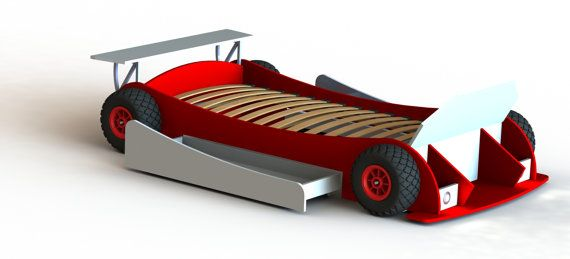 Diy Plans Twin Race Car Bed Plans Twin Size In 2019 Products