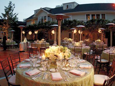 Outdoor Dinner Ideas Budget Wedding Planning Etiquette