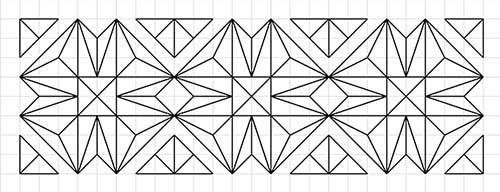 image regarding Printable Chip Carving Patterns known as L. S. Irish Do it yourself Wooden carving behavior, Chip carving
