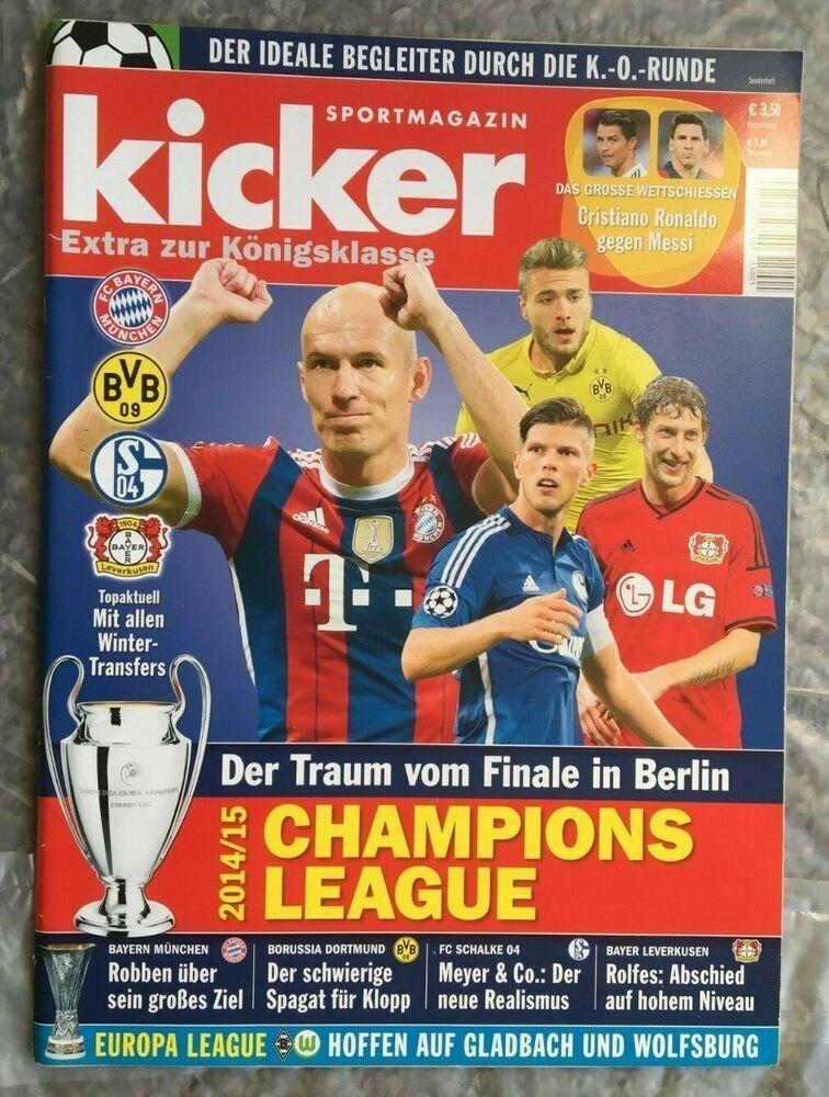 Pin von Wolfgang Sittig auf KICKER | Kicker, Champions