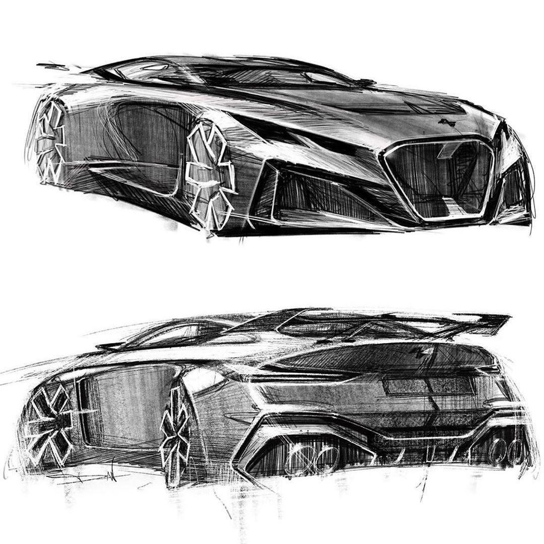 "DC Design on Instagram: ""sketch by @dan_jimenez_ , car designer at Nissan & Infiniti . . . . #cardesignsketch #cardesigncommunity #transportationdesign"""
