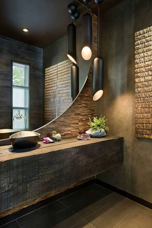 Bathroom | mrl | Pinterest | Bathroom designs, Task lighting and ...
